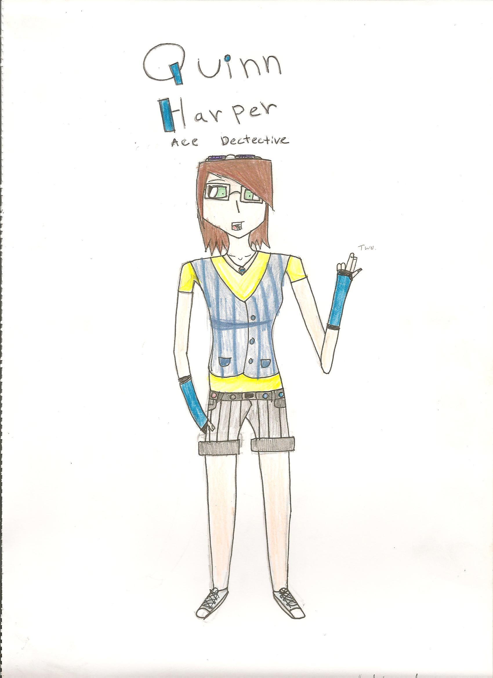 A20 quinn harper 001 Last week was Teen Read Week and I want to say thanks for all the teens who ...